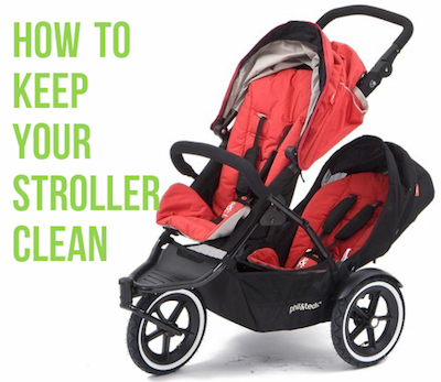 How to keep your stroller clean - Double Umbrella Stroller Guide